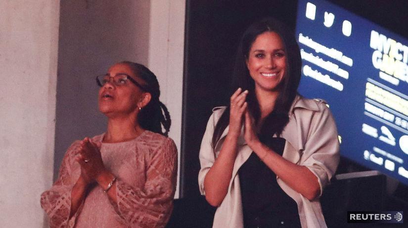 Meghan Markle (vpravo) a jej mama Doria...
