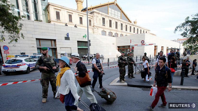 Marseille teroristický útok 1.10.2017