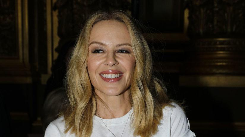 Speváčka Kylie Minogue oslávi v roku 2018...