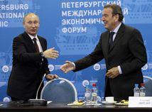 Ekonomické fórum Petrohrad, Gerhard Schroder, Putin