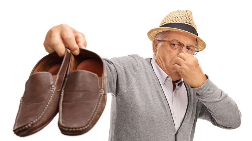 topánky, zápach