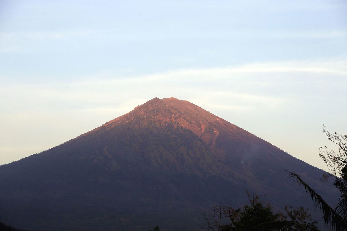 Indonézia, Bali, vulkán