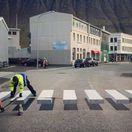 Isafjordur  - prechod pre chodcov