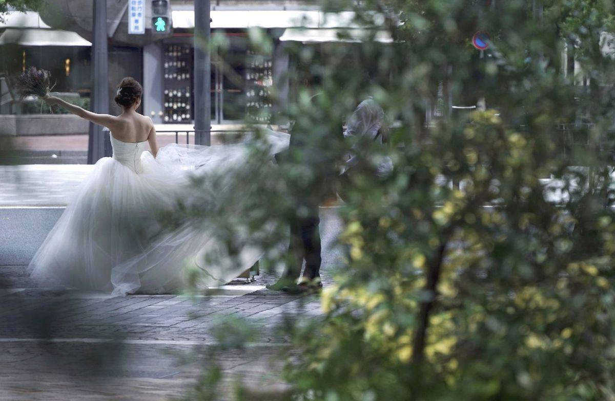 nevesta, Japonsko, svadba