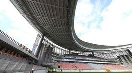 Štadión v Jekaterinburgu.