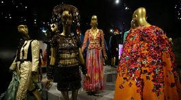 Záber z múzea dizajnéra Yvesa Saint Laurenta, ktoré otvorili v Paríži.
