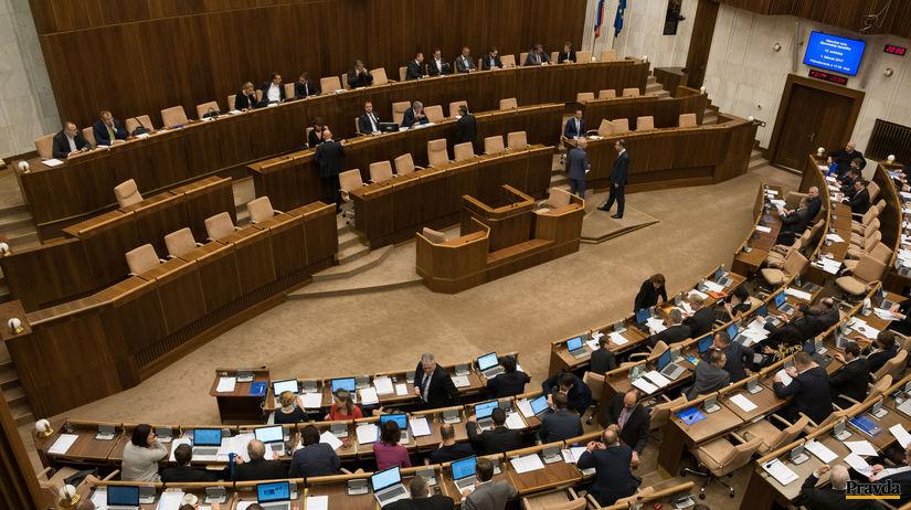 Parlament, Národná rada, NRSR