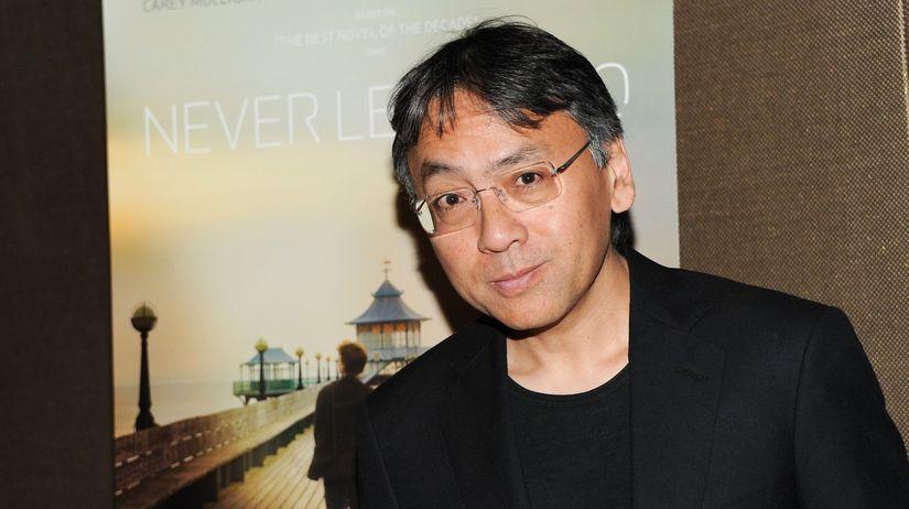 Spisovateľ Kazuo Ishiguro.