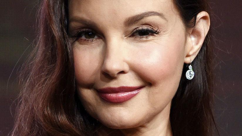 Herečka Ashley Judd na archívnom zábere.