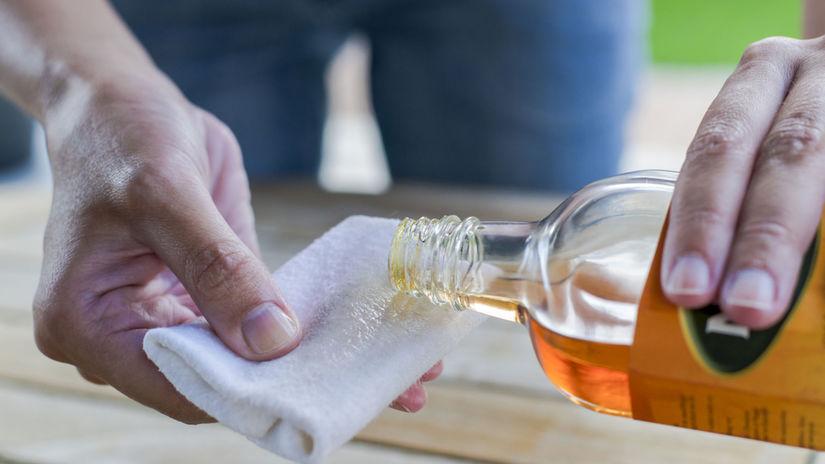 olej, čistenie, upratovanie