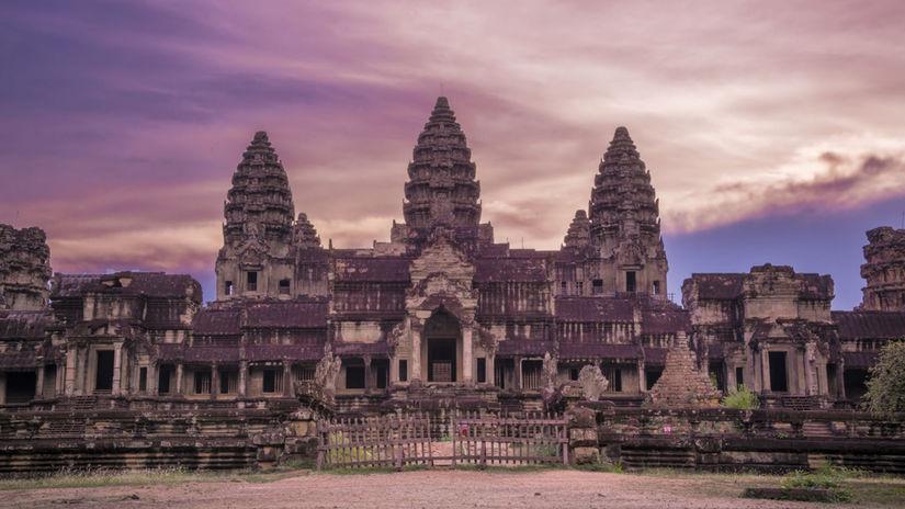 Siem Reap, Angkor, Kambodža