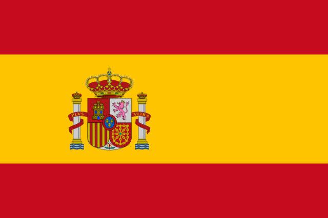 španielsko, vlajka