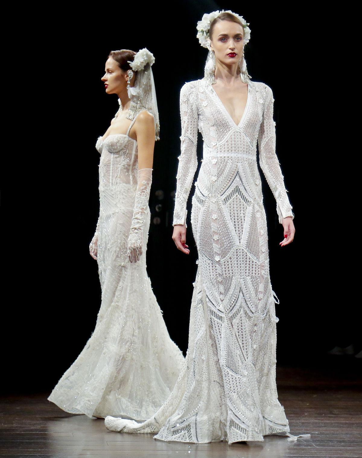 9d52fa1e1a Svadobná nádhera! Trendy šiat pre nevesty z New Yorku uchvátia ...