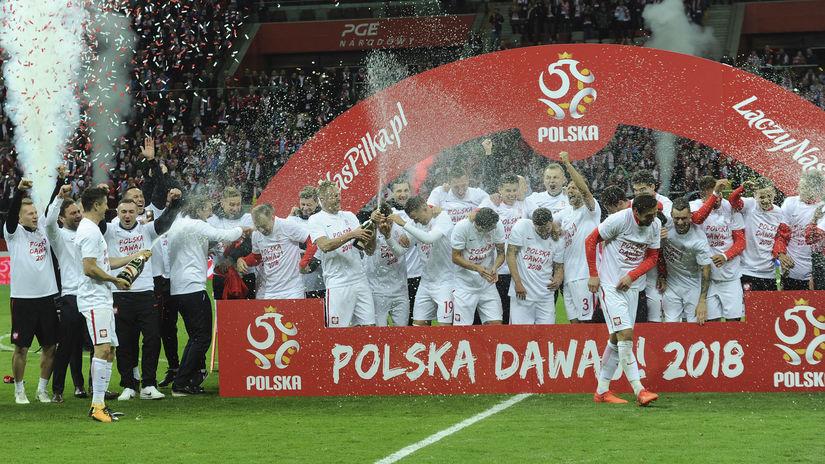 Poľsko, futbal, radosť