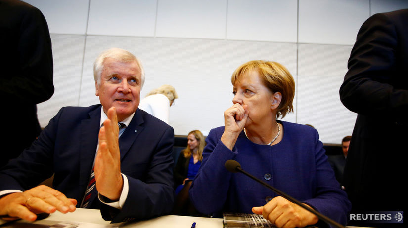 Stretnutie Merkelová, Seehofer po parlamentných...
