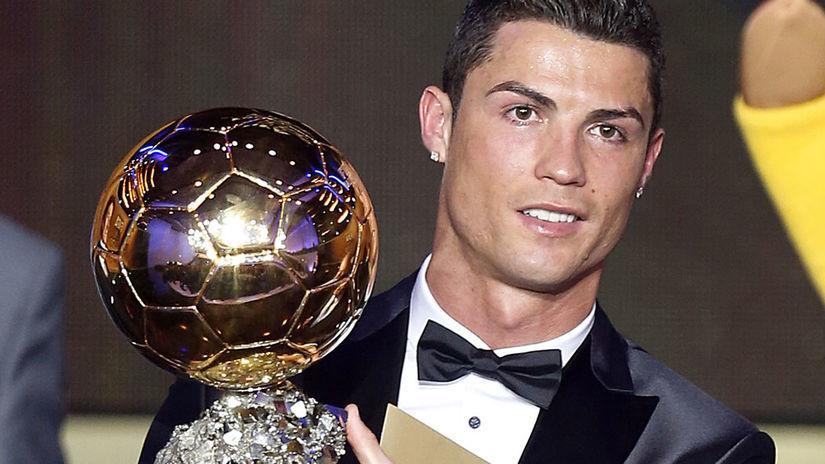 Cristiano Ronaldo, Zlatá lopta