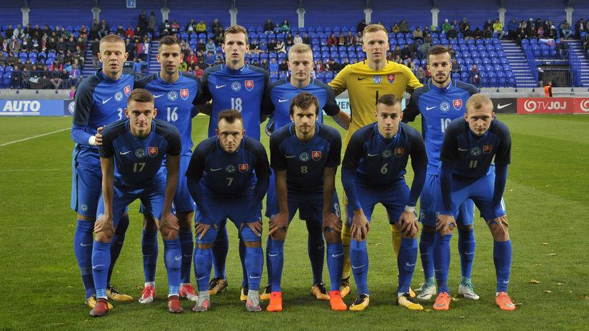 Futbalisti do 21 rokov, Slovensko, Island