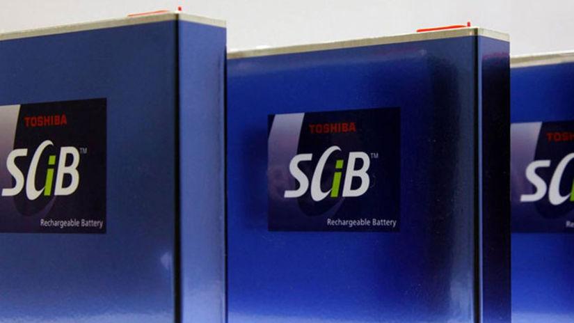Toshiba baterie