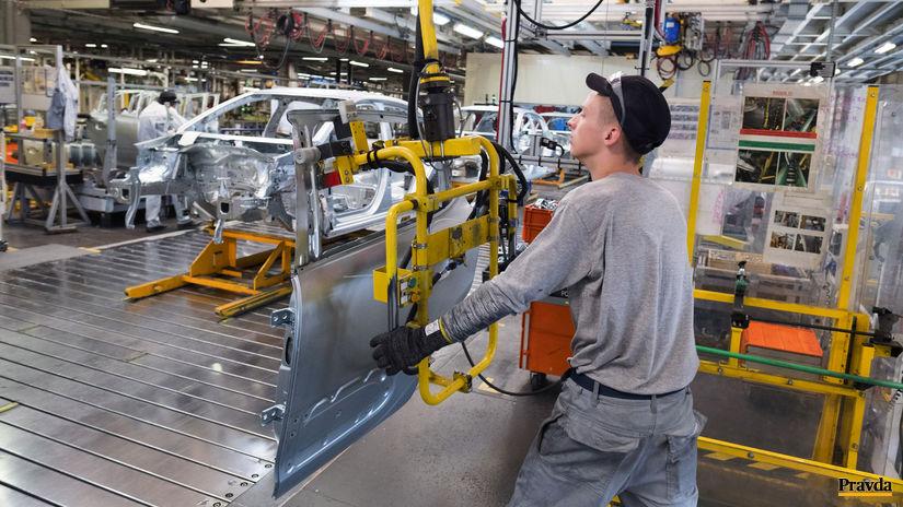 výroba áut, automobilka, automobilový priemysel