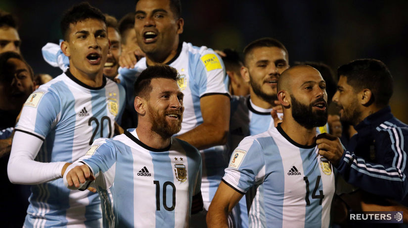 Argentína Messi