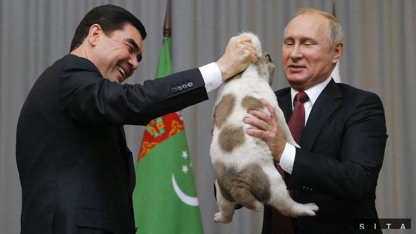 Rusko Turkmenistan