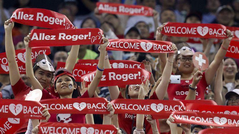 Federer Šanghaj