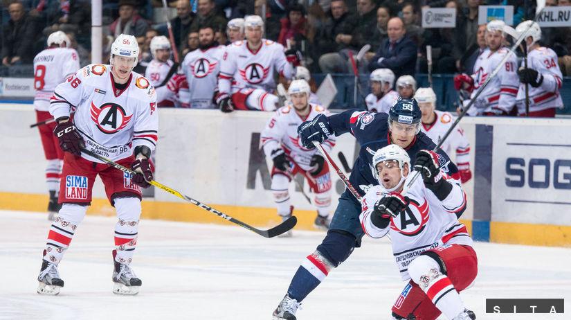 HOKEJ-KHL: Bratislava - Jekaterinburg