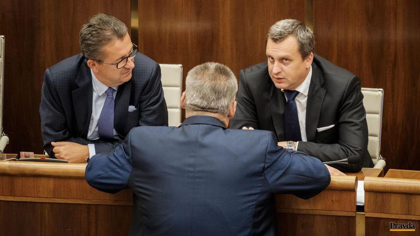 parlament, danko, richter, glvac