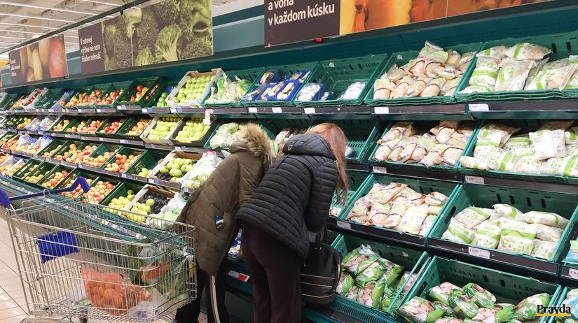 potraviny, nákup, zelenina, obchod,...