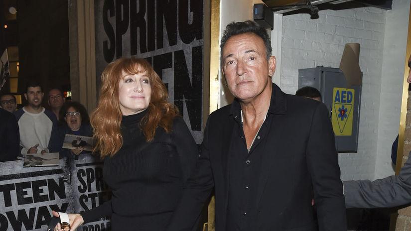 Bruce Springsteen a jeho manželka Patti Scialfa