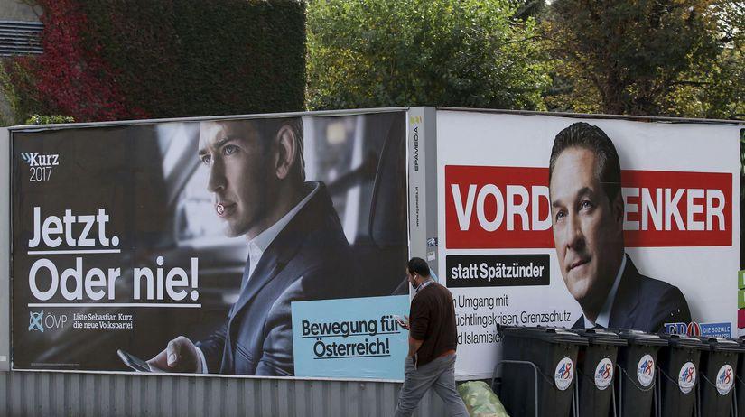 predvolebný bilboard, rakúsko, voľby