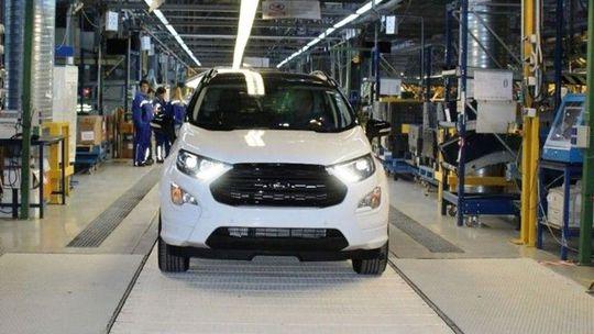 Ford spustil výrobu crossoveru EcoSport v Rumunsku