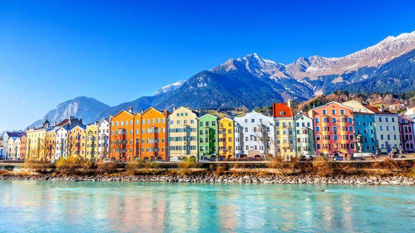 Innsbruck, Alpy, Rakúsko