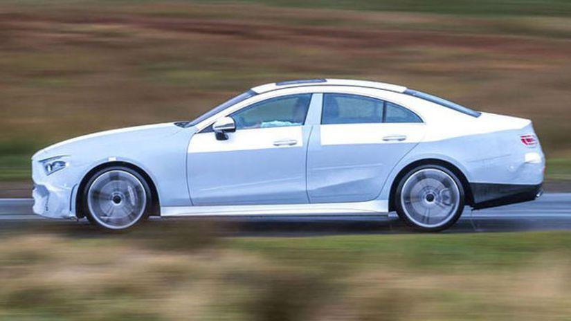 Mercedes-Benz CLS - 2018 prototypy