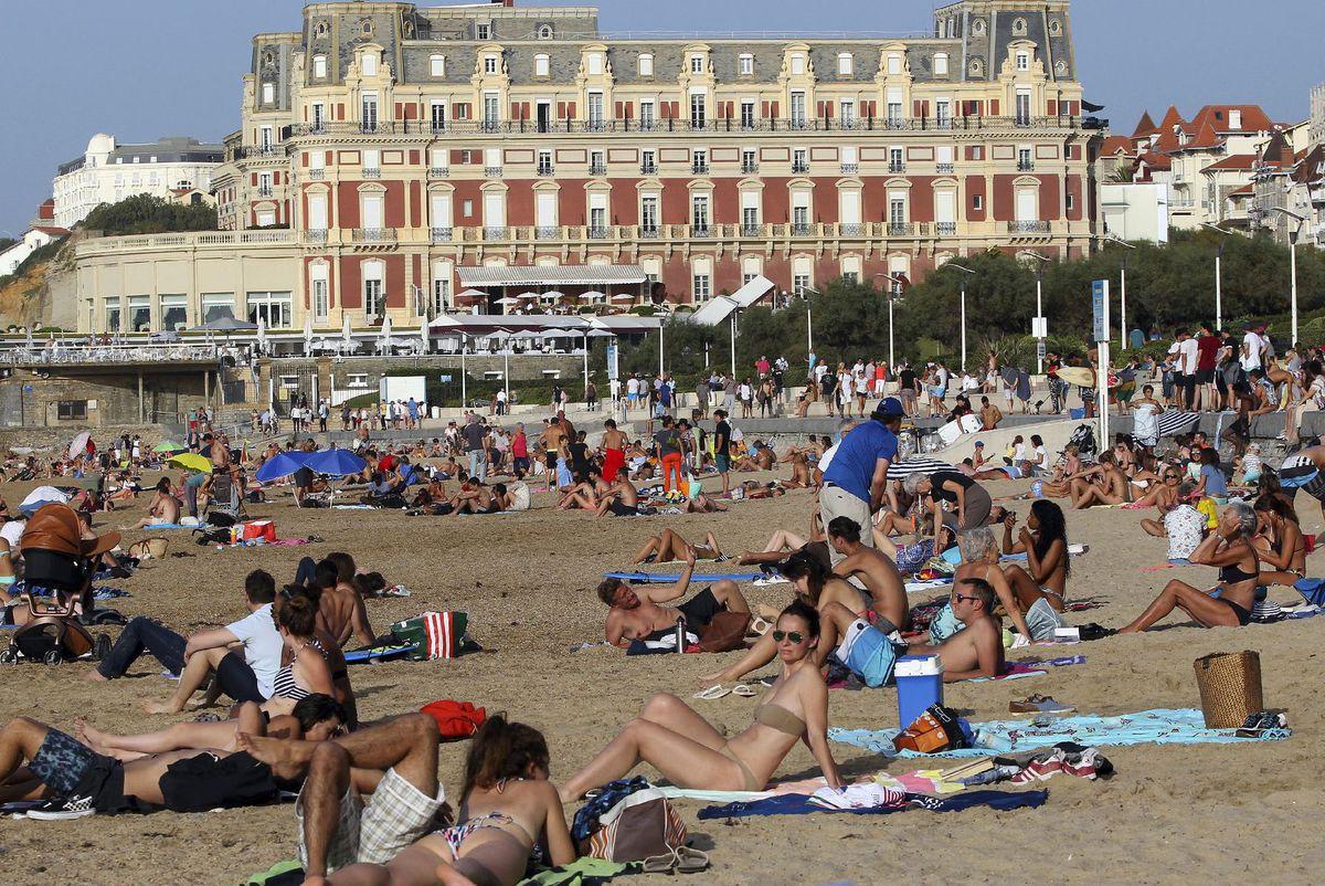 Francúzsko, pláž, more, dovolenka, cestovanie