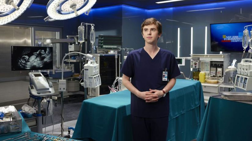 the good doctor, freddie highmore,