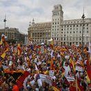 Barcelona, demonštrácia, Katalánsko