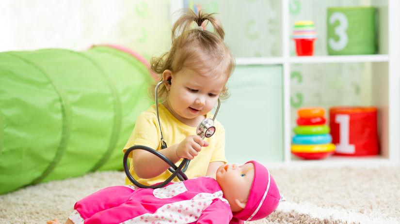 dieťa, hračka, bábika