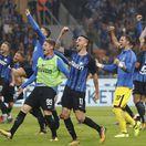 Inter derby radosť