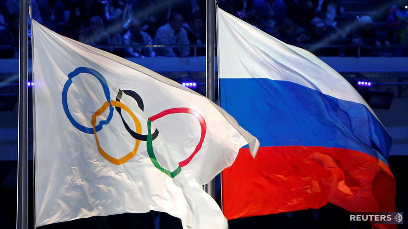 Rusko, olympiáda, ilustračná