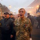 Ukrajina pochod neonacistov
