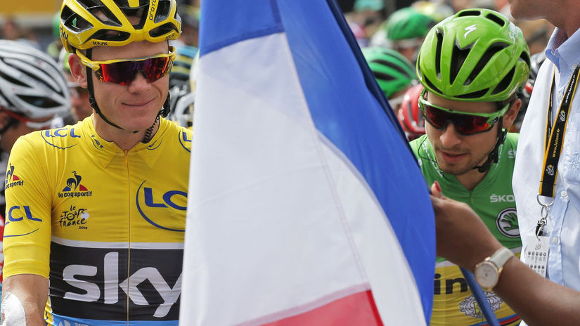 Chris Froome, Peter Sagan