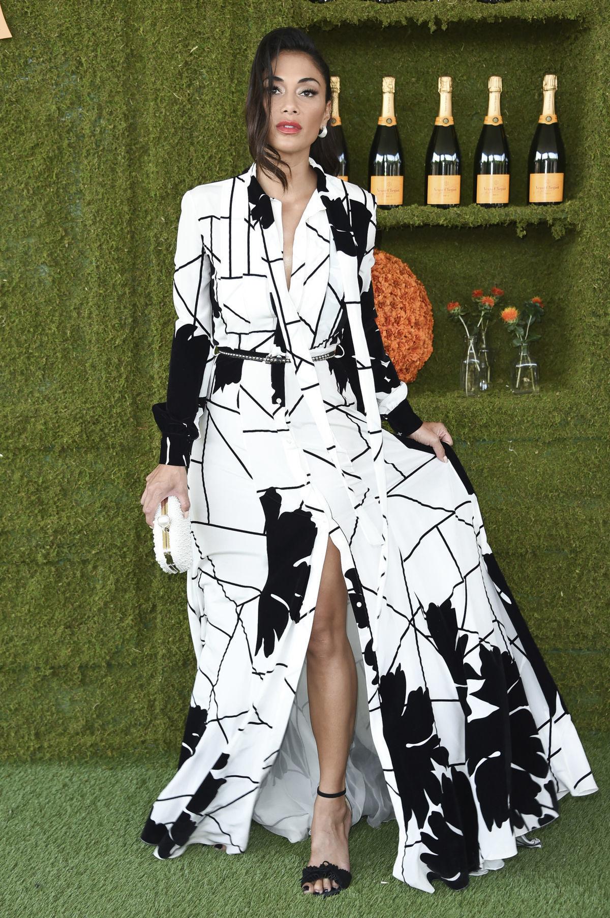 Speváčka a televízna porotkyňa Nicole Scherzinger.