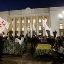 V centre Kyjeva sa demonštrovalo za reformu ukrajinskej politiky