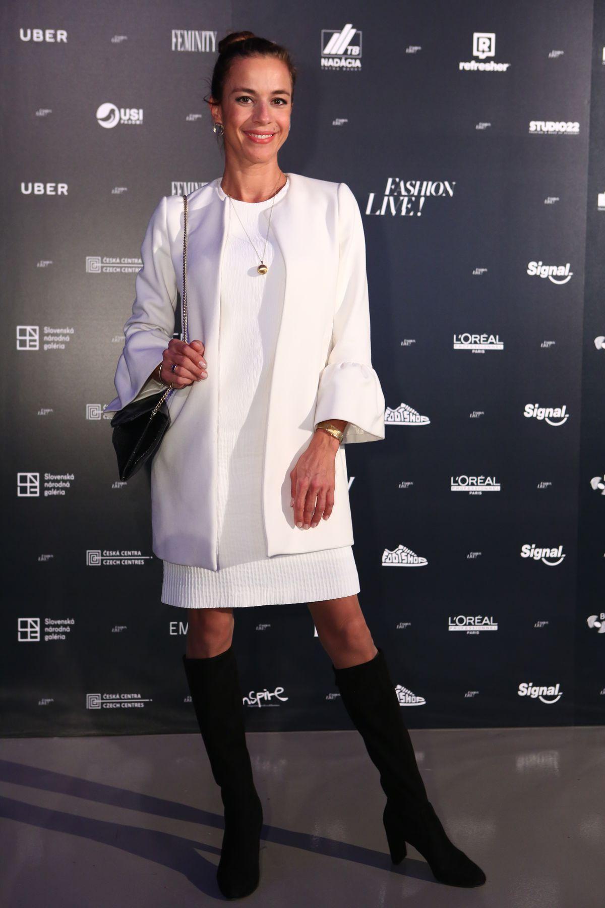 Herečka Lucia Hurajová.