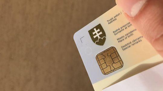 občiansky preukaz, občiansky, eID, čip
