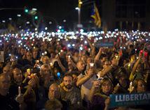 Španielsko, Katalánsko, Barcelona, protest