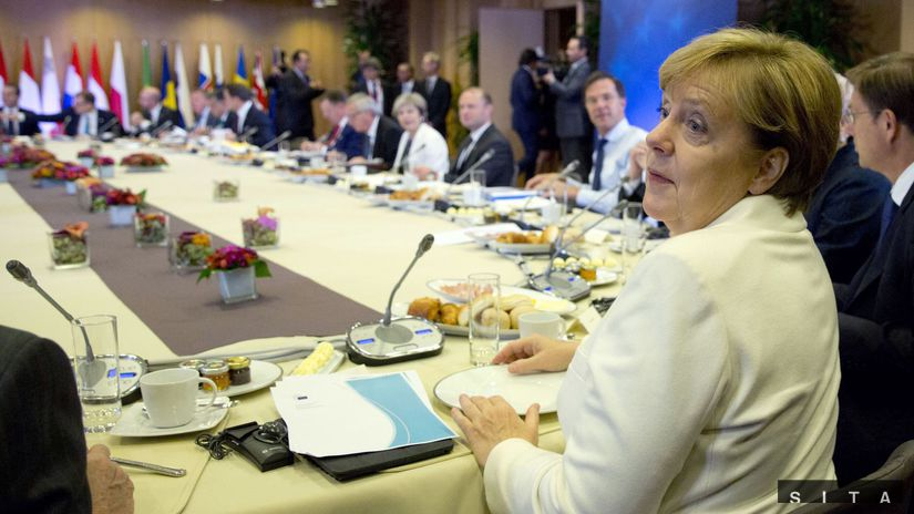 Angela Markelová, summit EÚ