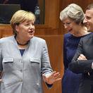 Angela Merkelová, Emmanuel Macron, Theresa Mayová
