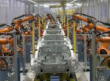 robot v automobilke